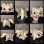 BronyCon'18 - MLP Derpy Chibi/Roll/Stacking Plush by RubioWolf