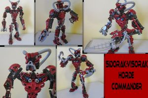 Bionicle G1:Sidorak (Modified) by Trimondius01
