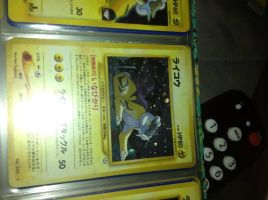 Japanese raikou foil SOLD by RayTheBishie