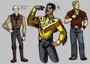 Western Gents by ReaperClamp