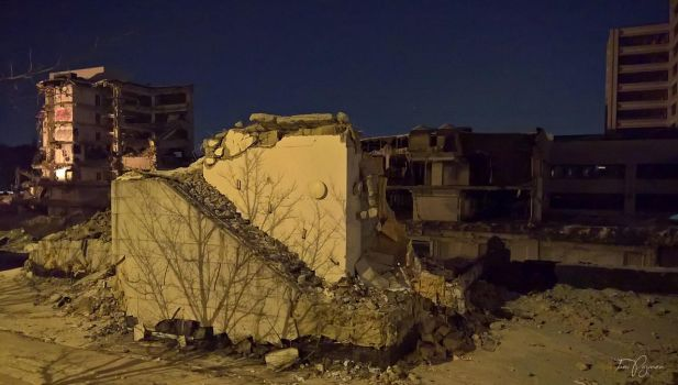 Demolition by Night by Pajunen