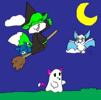 Very Late Halloween Piccy by dawny