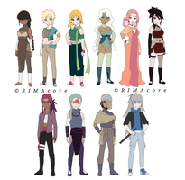 Naruto Adopts #8 (3/10 Open) by RIMAcore