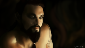 Kahl Drogo - Game of Thrones by GinHans