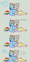 rainbow derp by procaballus