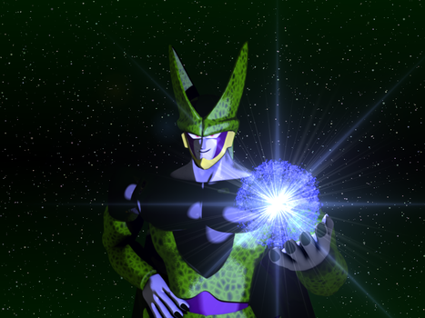 3D Cell with Ki ball by PyroDragoness
