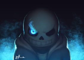 Sans Sketch by JayKLegendary