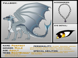 Pomfret Reference Sheet by Sahel-Solitude