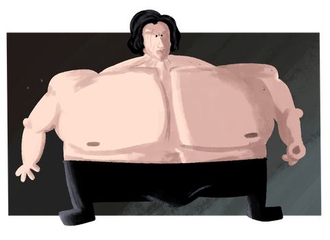 STREM - The Fun of Drawing - Swole Kylo Ren by SrPelo
