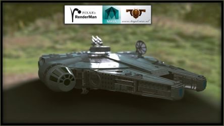 The most famous spaceship in the galaxy by TargetView