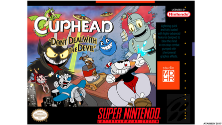 Cuphead Is Contra Nuff Said. by Atariboy2600