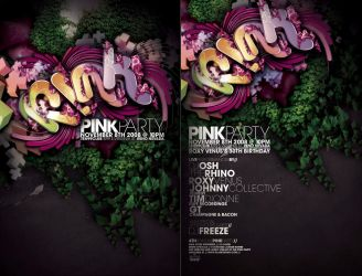 PINK PARTY FLYER REMIX by Demen1