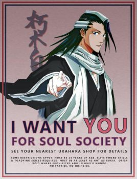 Byakuya Wants You by EarlyBlake