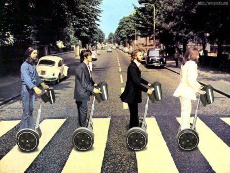 Beatles Segway by WickedAwsome