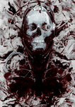 Abstract Skull by Cleorem