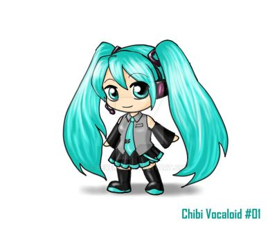 Chibi Vocaloid by Berende