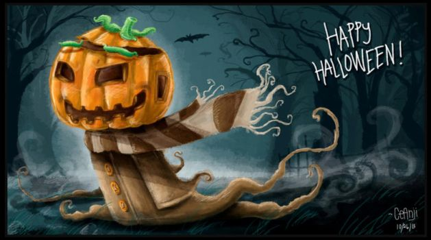 Happy Hallowweeeeen by ceanji