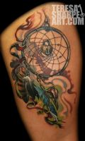 Dream Catcher Tattoo by Phedre1985