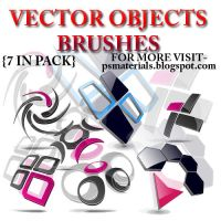 VECTOR OBJECTS BRUSHES by vishalrokez