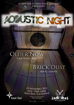 Acoustic Night by PoC-Bnui