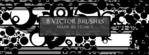 First Vector Set -8 Brushes- by Humus75