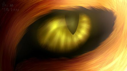 Semi-realistic eye 2 by LionGaming