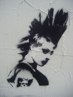 Brody Dalle in the street by terror-me-sue