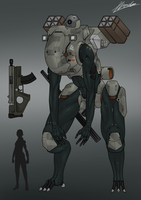 BPAV-34 Land stalker by dabigboss888