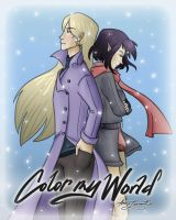 [W.I.T.C.H.] Color My World Cover by OrangeCrazyRandom