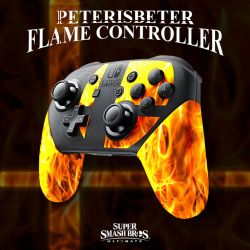 Super Smash Bros. Ultimate Flame Controller by PeterisBeter