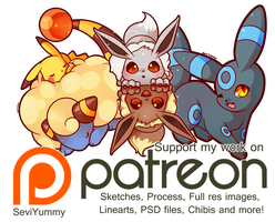 April Rewards! Available on Patreon by SeviYummy