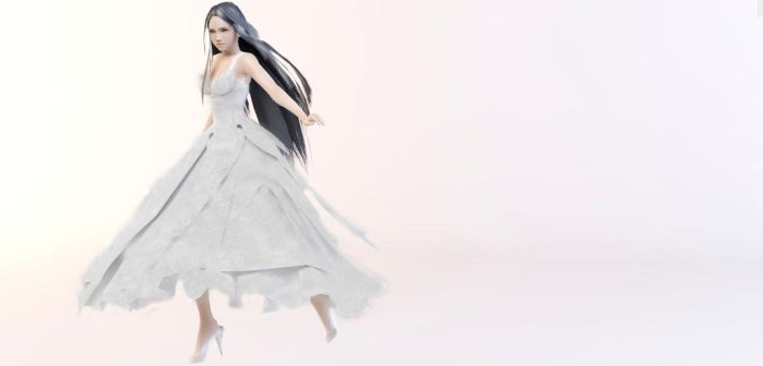 Yeul Dress render by Sereda-Hawke
