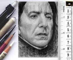 Snape sketchcard by whu-wei
