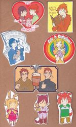 OB magnets/stickers by wulfmune
