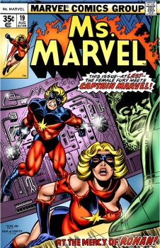 COVER RECREATIONS Ms Marvel 19 by BrianGraham