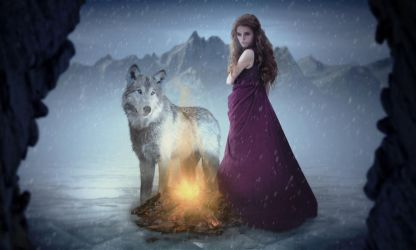 SKADI - GODDESS OF WINTER AND HUNTING by Emil19984