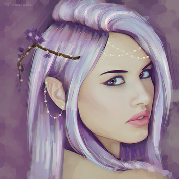 Lexi Purple by Minaiade