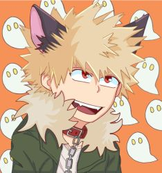 Spooky Katsuki by Lazy-Usagi