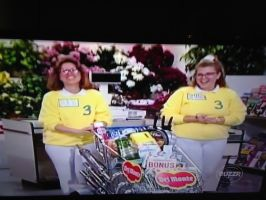 1991 Supermarket Sweep scene with Del Monte cart by dth1971