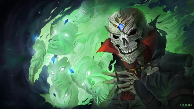 Fane: masks and bones by mamoonart