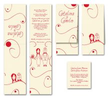 My wedding Invitation by camilojones