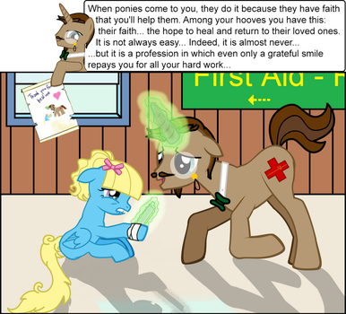 Dr. Lowrence - Beeing a medic... by Equitariuum