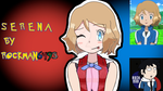 Serena (Normal Outfit)  by Rockman6493 by RockMan6493
