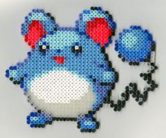 Maril Pokemon fuse beads
