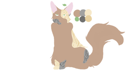 lineless kitty by thelilcatus