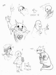 underscribbles by fakeSidney