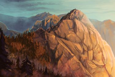 Moro Rock by chateaugrief