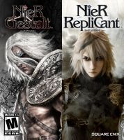 Nier Gestalt and RepliCant by marblegallery7