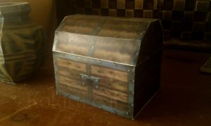 Ocarina of Time - Wooden Chest by Liefesa