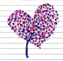 Heart Tree by thisistheonlyme